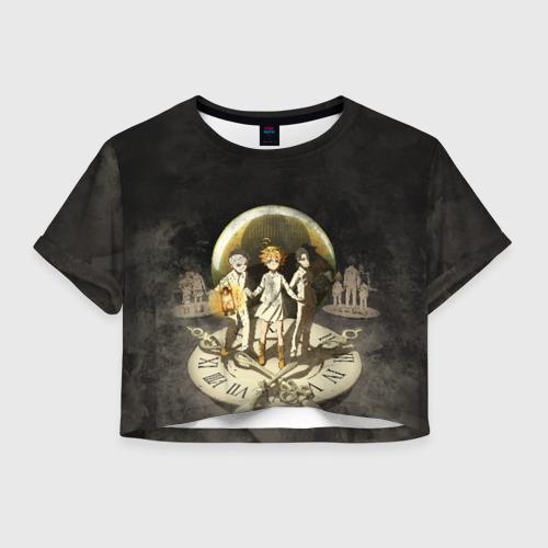 Женская футболка Crop-top 3D Children