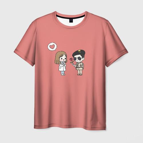 Мужская футболка 3D Descendants of the Sun