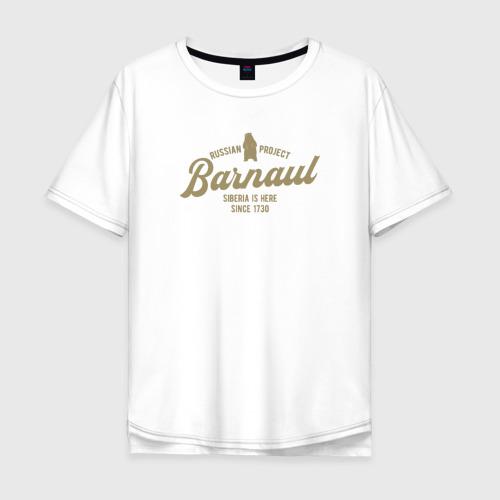 Мужская футболка хлопок Oversize Барнаул