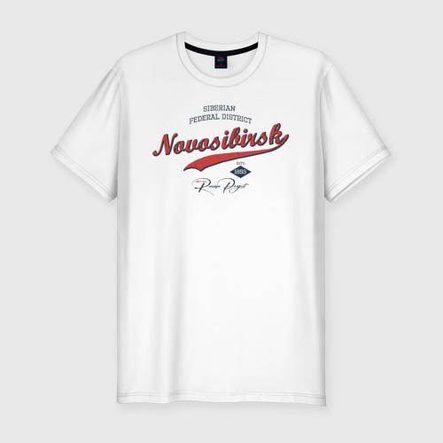 Мужская футболка хлопок Slim Новосибирск СФО