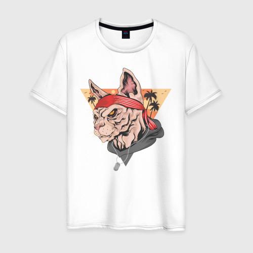 Мужская футболка хлопок Злой котэ