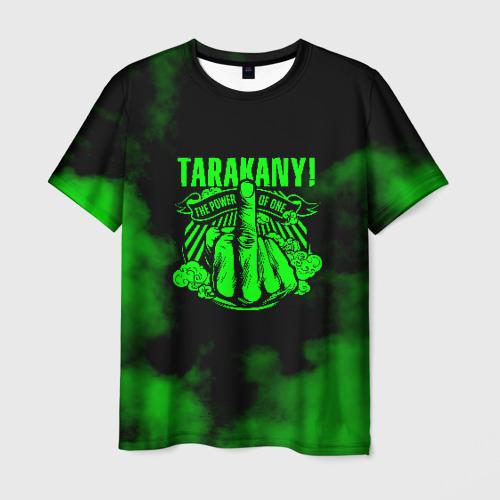 Мужская футболка 3D Тараканы!