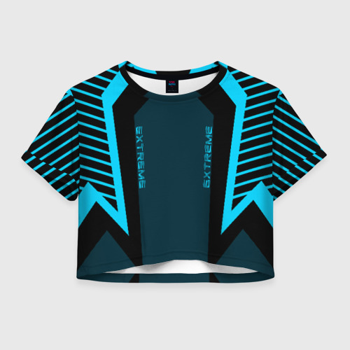 Женская футболка Crop-top 3D Extreme