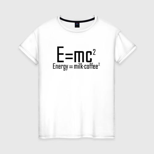 Женская футболка хлопок Emc2