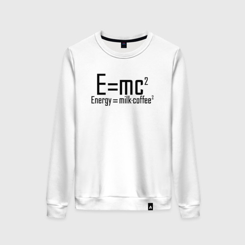 Женский свитшот хлопок Emc2