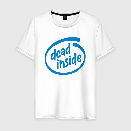 Мужская футболка хлопок Dead inside