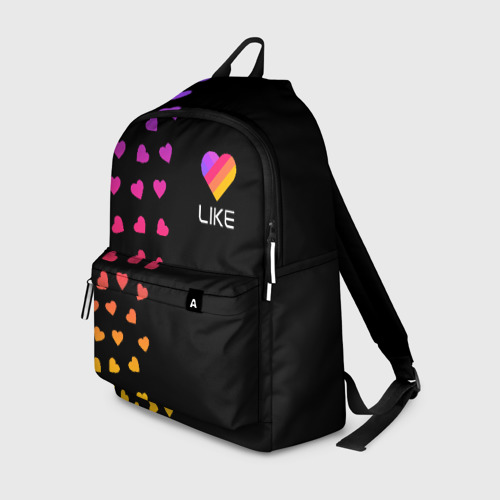 Рюкзак 3D LIKE (Likee) - Сердечки