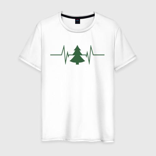 Мужская футболка хлопок Жизнь дерева