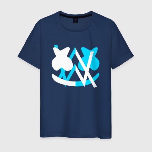 Мужская футболка хлопок ALAN WALKER x MARSHMELLO