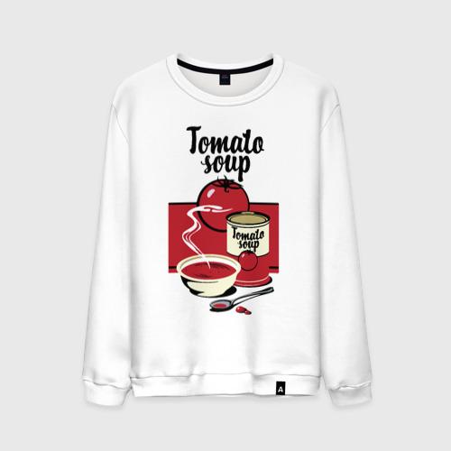 Мужской свитшот хлопок Томатный суп
