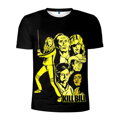 Мужская футболка 3D спортивная Kill Bill