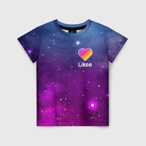 Детская футболка 3D LIKEE Space