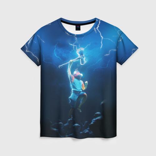 Женская футболка 3D КАРАСЬ FORTNITE