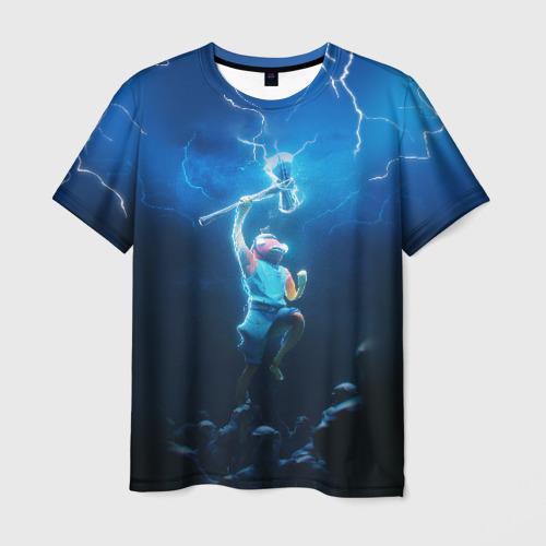 Мужская футболка 3D КАРАСЬ FORTNITE