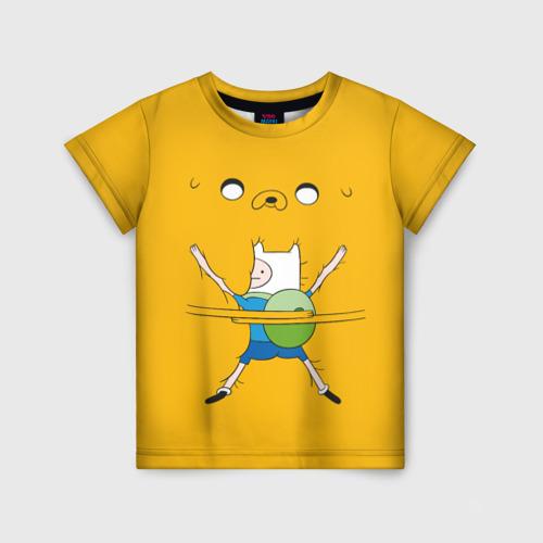 Детская футболка 3D Обнимашки