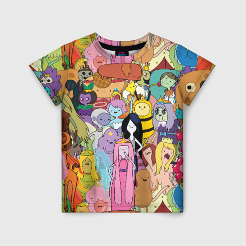 Детская футболка 3D Adventure time
