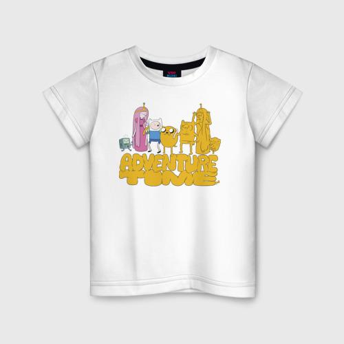 Детская футболка хлопок Adventure time