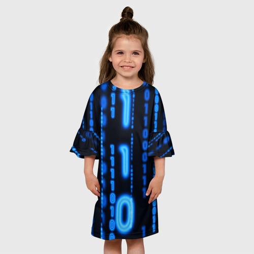 Детское платье 3D Я ПРОГРАММИСТ