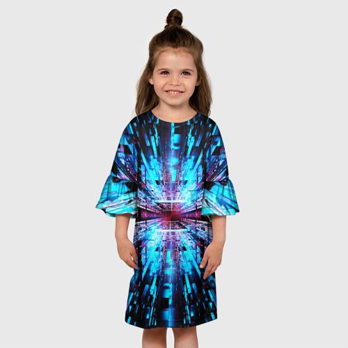 Детское платье 3D АБСТРАКЦИЯ