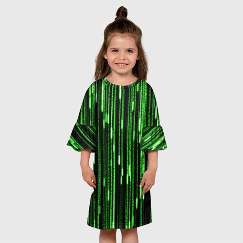 Детское платье 3D МАТРИЦА