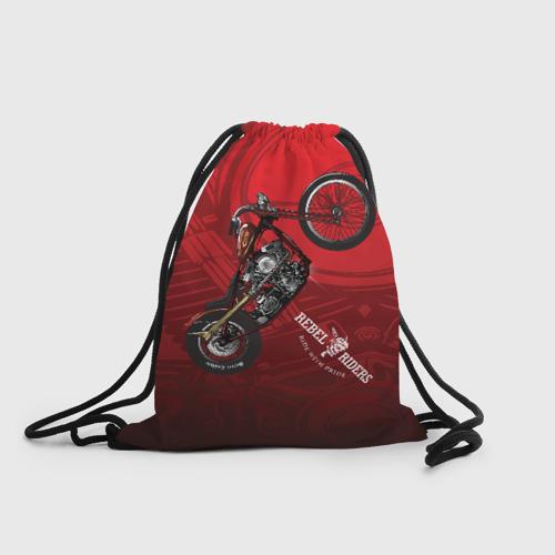 Рюкзак-мешок 3D Vintage chopper motorcycle