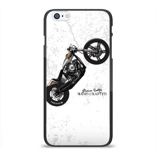 Чехол для iPhone 6Plus/6S Plus глянцевый Vintage Chopper Motorcycle