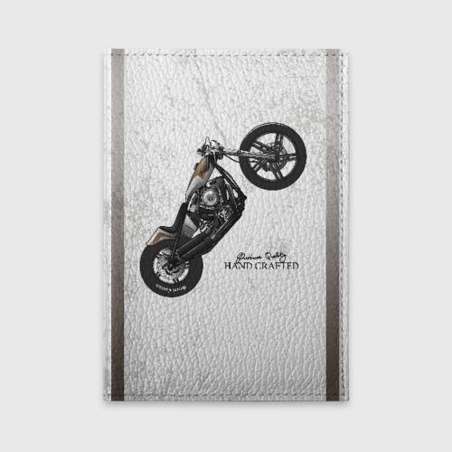 Обложка для автодокументов Vintage Chopper Motorcycle