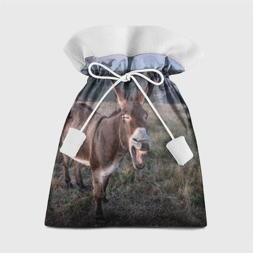 Подарочный 3D мешок Осёл