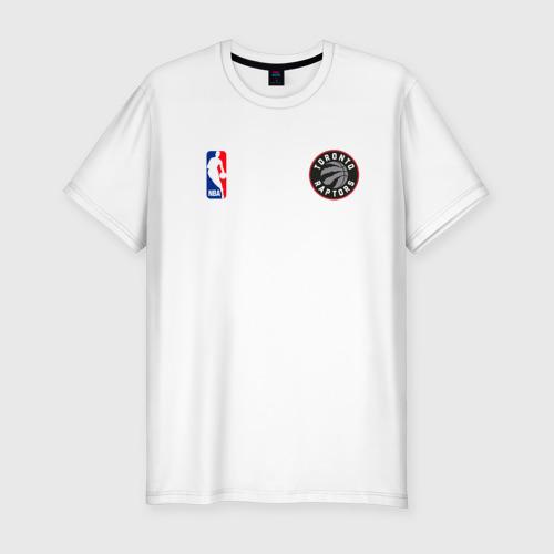 Мужская футболка хлопок Slim Toronto Raptors NBA