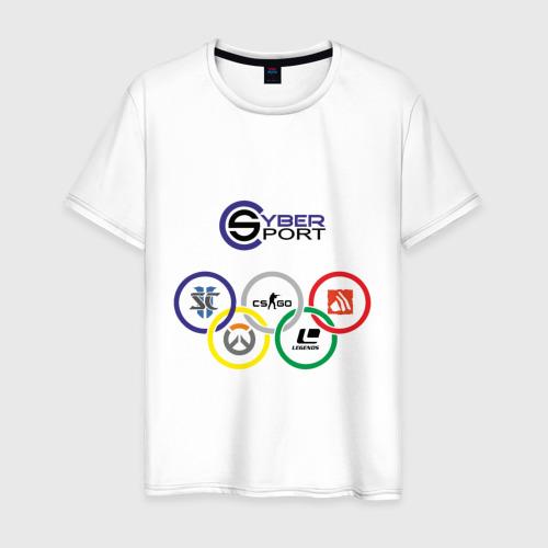 Мужская футболка хлопок CyberSport