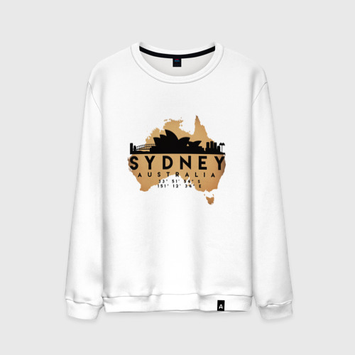 Мужской свитшот хлопок Сидней (Австралия)
