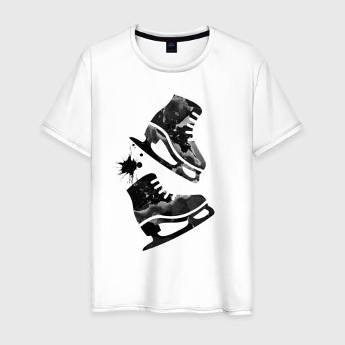 Мужская футболка хлопок коньки