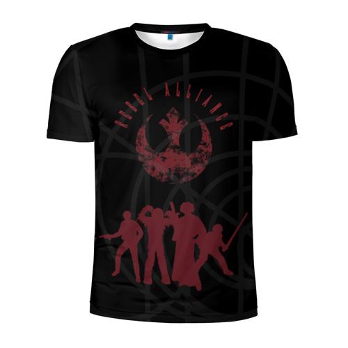Мужская футболка 3D спортивная Rebel Alliance