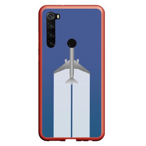 Чехол для Xiaomi Redmi Note 8 Человек летающий