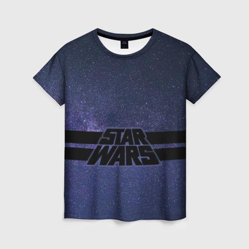 Женская футболка 3D Star Wars Space