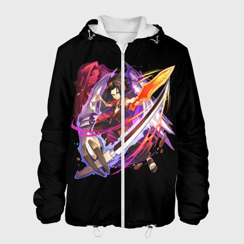 Мужская куртка 3D Shaman king