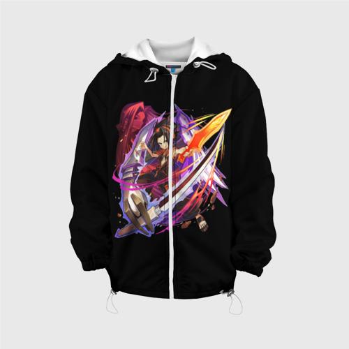 Детская куртка 3D Shaman king
