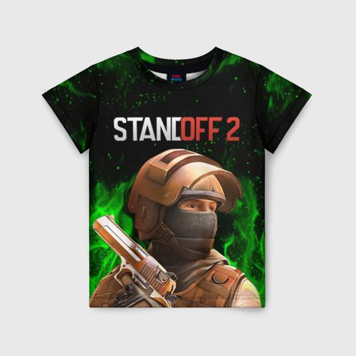 Детская футболка 3D STANDOFF 2   СТАНДОФФ 2 (Z)