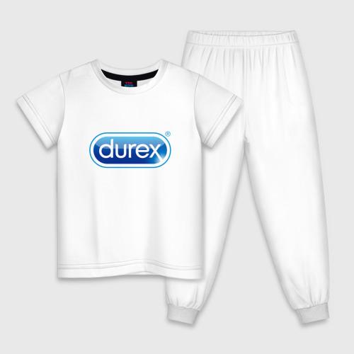 Детская пижама хлопок DUREX