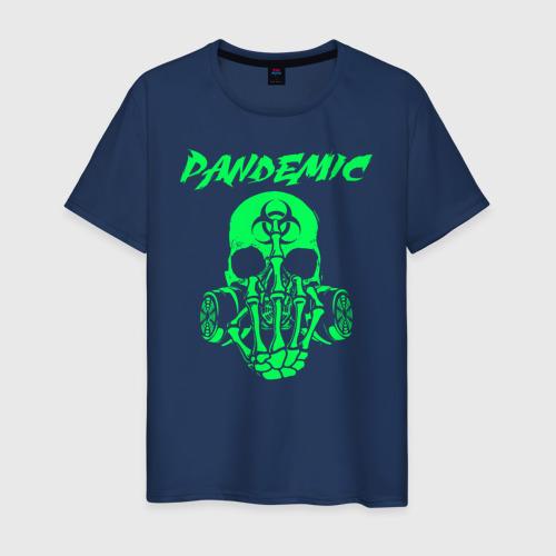Мужская футболка хлопок Пандемия