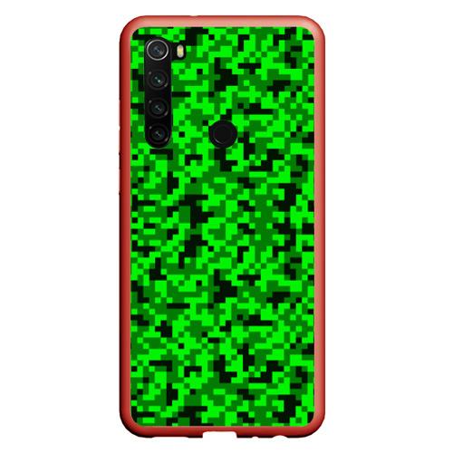 Чехол для Xiaomi Redmi Note 8 КАМУФЛЯЖ GREEN