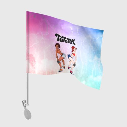 Флаг для автомобиля Тверк