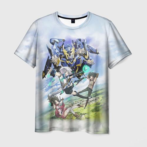Мужская футболка 3D Рыцари и магия