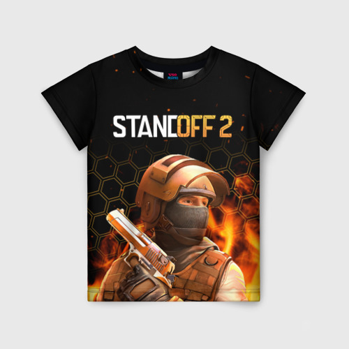 Детская футболка 3D STANDOFF 2 - Z9 (СТАНДОФФ 2)