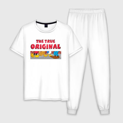 Мужская пижама хлопок The true original