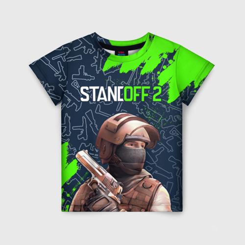 Детская футболка 3D STANDOFF 2 / СТАНДОФФ 2