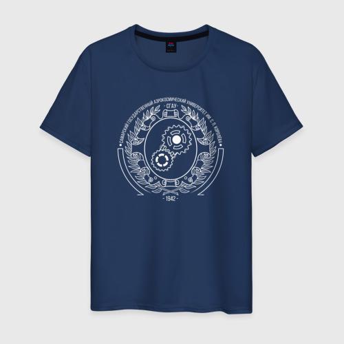 Мужская футболка хлопок СГАУ