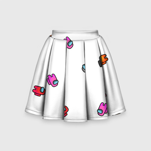 Детская юбка-солнце 3D Among Us