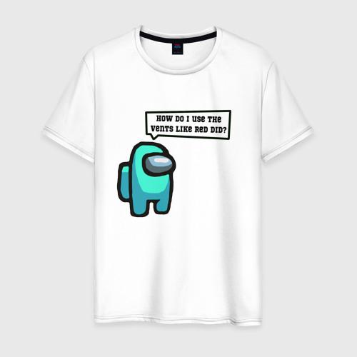 Мужская футболка хлопок Among Us