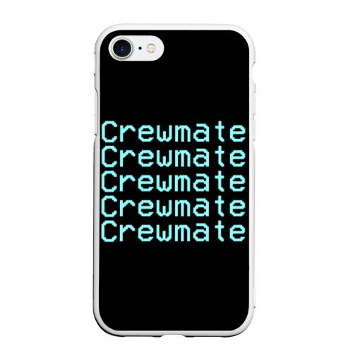 Чехол для iPhone 7/8 матовый Among Us